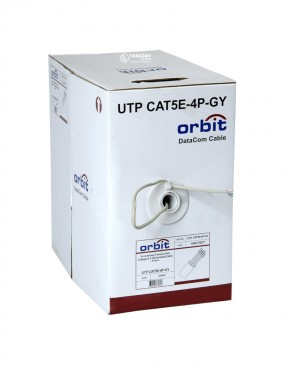 ORBIT UTP CAT5E-4P-GY 305м