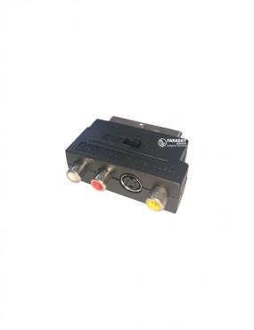Переходник SCART-3RCA