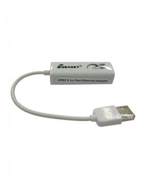 USB-LAN адаптер Eurosky 100 Мбіт